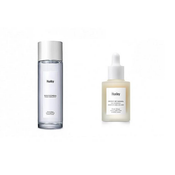 HUXLEY - TONER & OIL ESSENCE SET