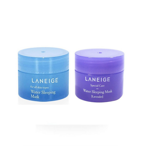 Laneige - Water Sleeping Mask (Original + Lavender) 15ml x 2