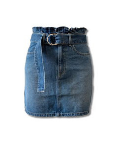 SASS Linden denim skirt