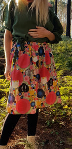 'Such a Flirt' Skirt-Painting the roses red
