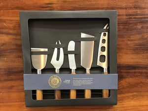 Cheese knife set 5pc