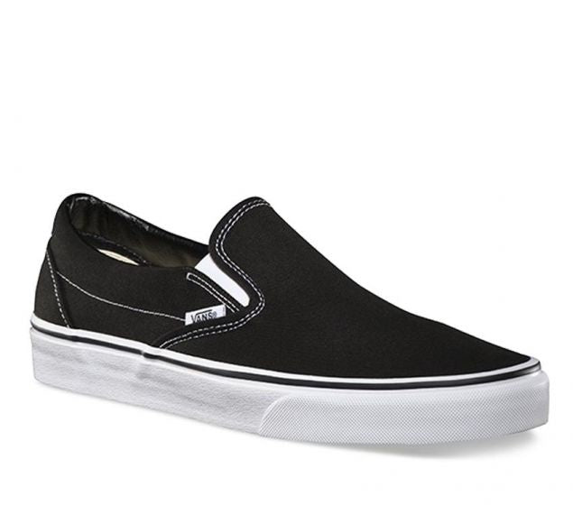 CLASSIC SLIP ON - BLACK/WHITE
