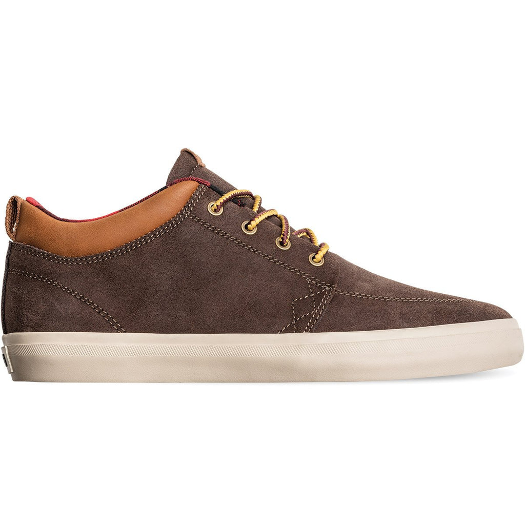 GS CHUKKA DARK BROWN/PLAID