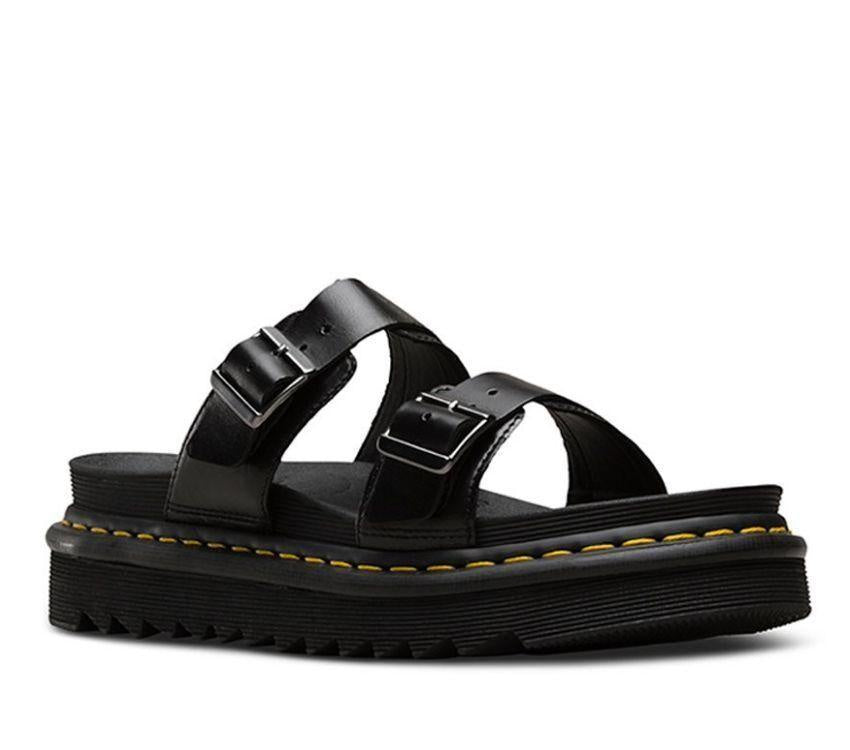 MYLES SLIDE SANDAL BLACK