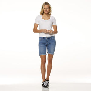 KNEE LENGTH SHORT ESCAPISM BLUE