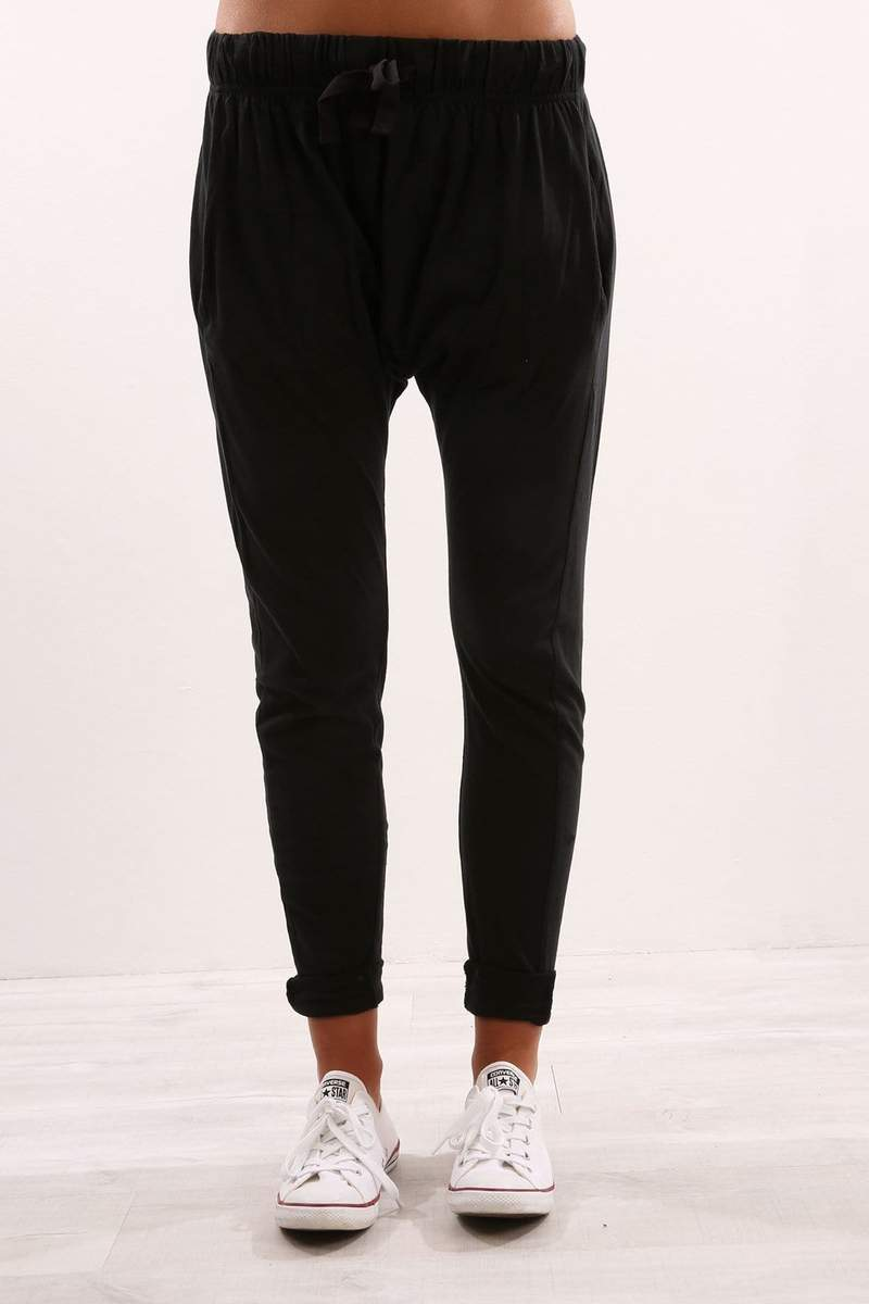 FLUID PANTS BLACK