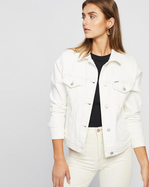 RELAXED JACKET - ECRU
