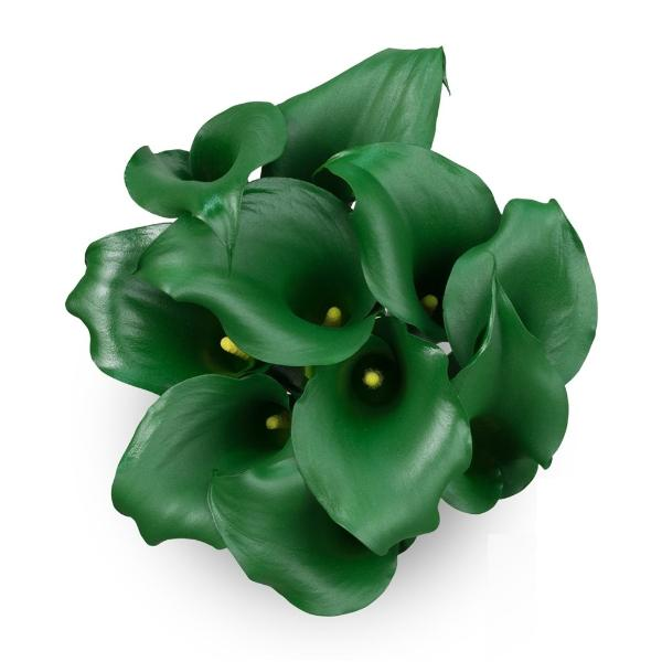 Green Emerald-Green Mini Callas - Ambience Flowers