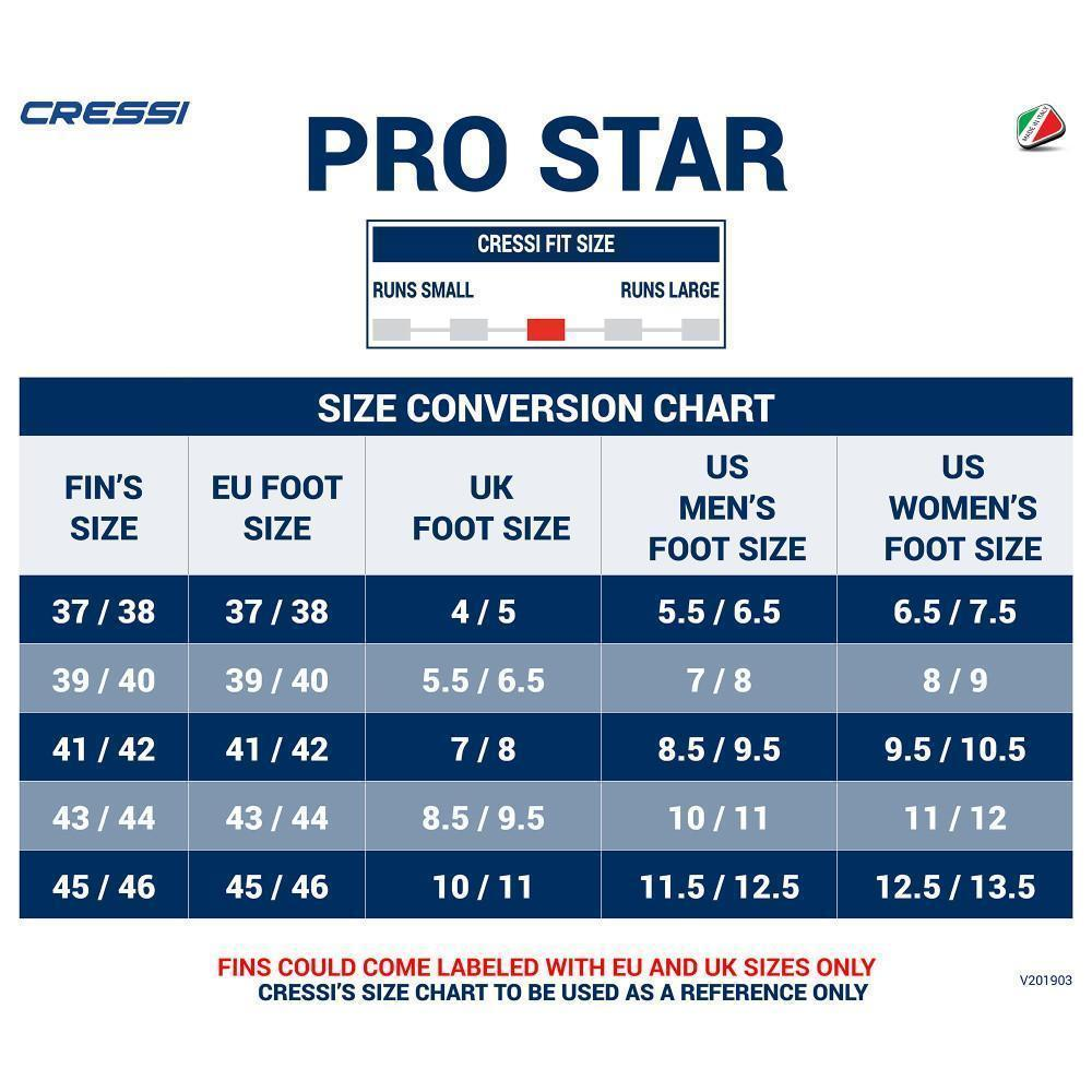 Cressi Pro Star | Diving Sports Canada