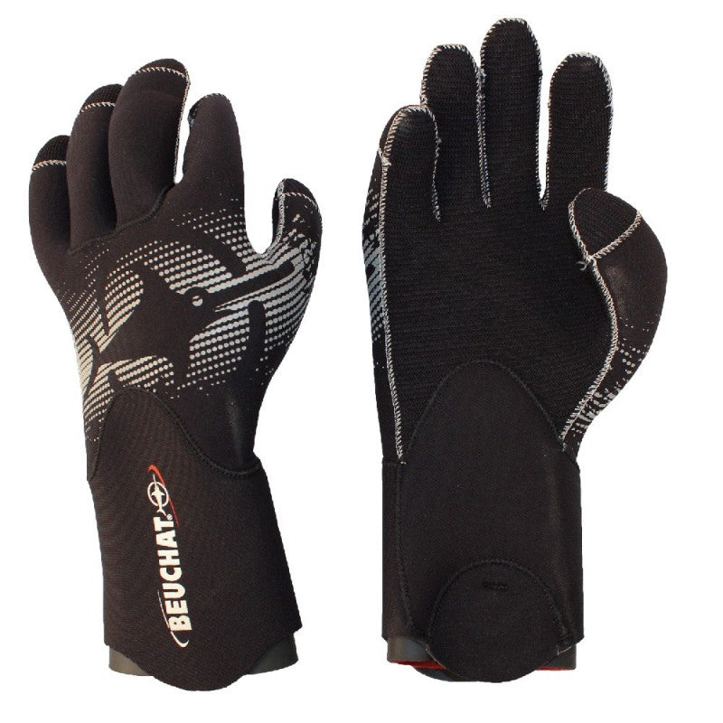 Beuchat SEMI DRY PREMIUM GLOVES 4.5mm| Diving Sports Canada