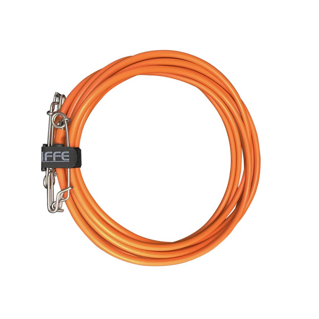 Riffe VINYL FLOAT LINE ASSEMBLY - ORANGE 75ft (22.9M) | Diving Sports Canada