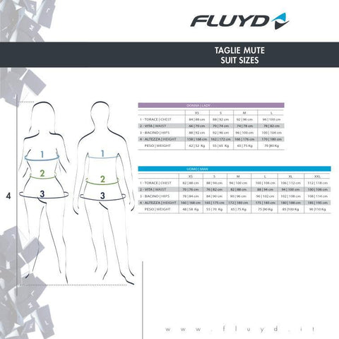 FLUYD WOMEN'S PURE SWIM 2.5MM | Diving Sports Canada
