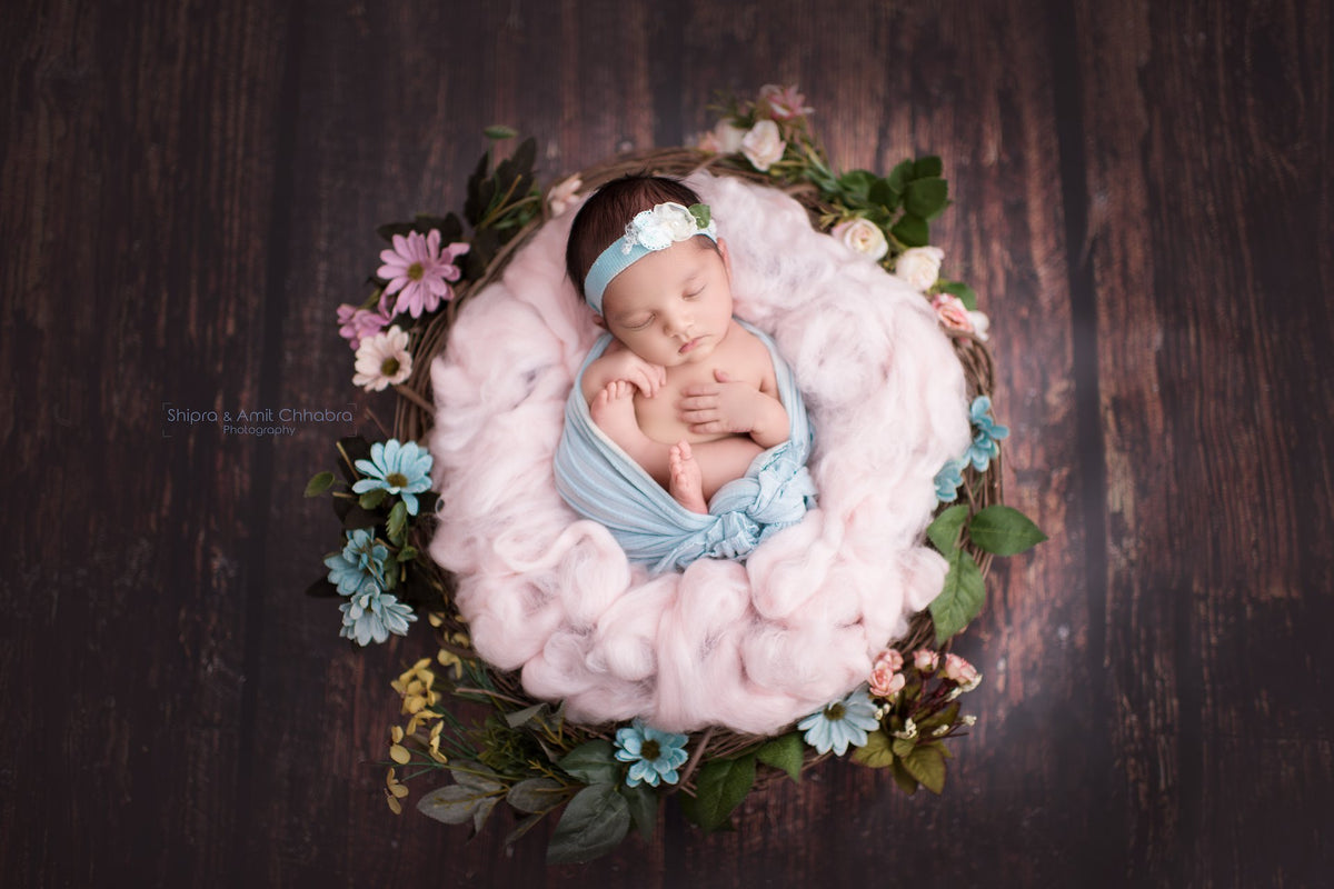 Beautiful photo props handmade newborn baby photography props