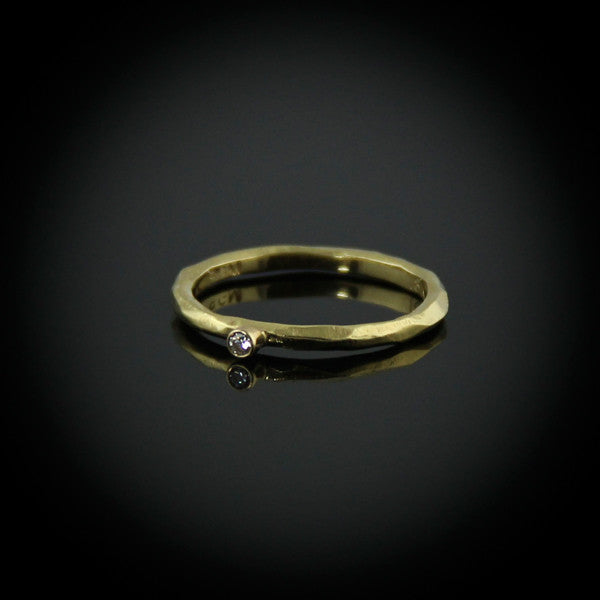 Rogue River Ring with Diamond