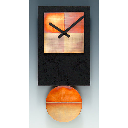 Black Tie Copper Pendulum Clock