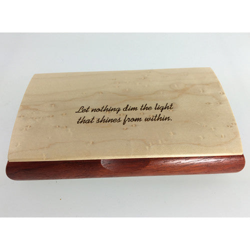 Laser Engraved Possibility Box