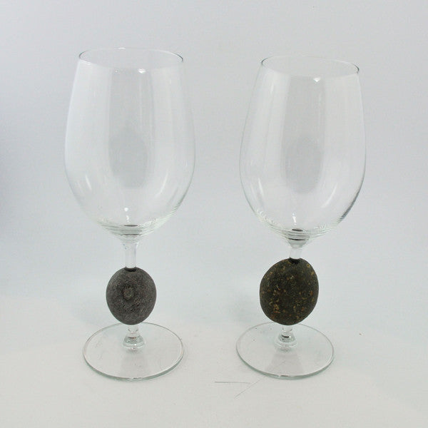 Stone Wine Glass