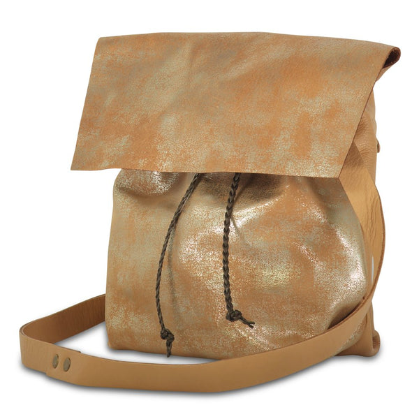 Small Bolsa - distressed camel