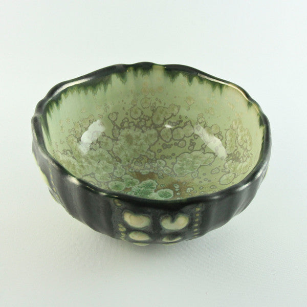 Mint & Charcoal Small Sea Urchin Bowl