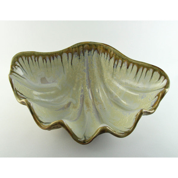 Abalone & Tortoise Medium Clam Bowl