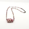 Necklace with Tourmaline in Quartz on Sapphire Chain
