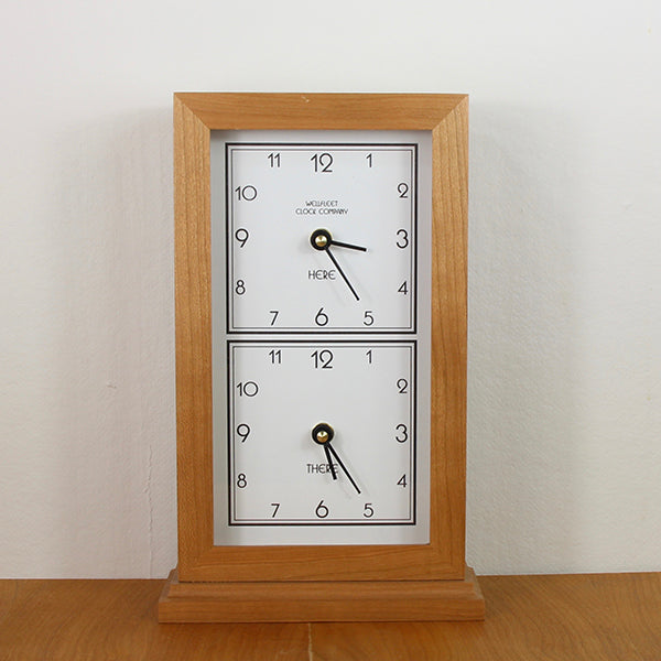 Here & There Dual Time Zone Clock
