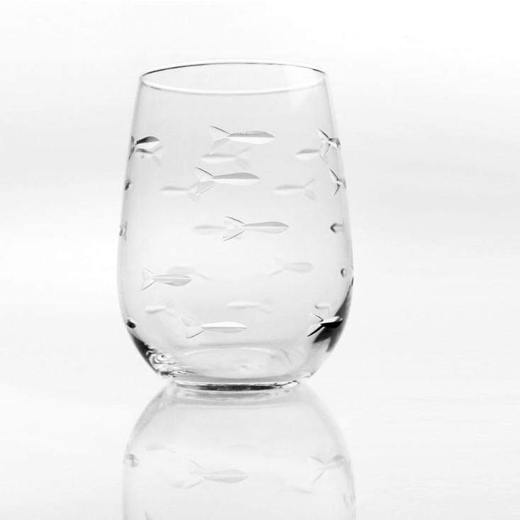 School of Fish Wine Tumbler