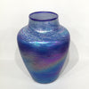 Small Luster Vase - blue
