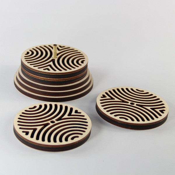 Coaster Set-Waves
