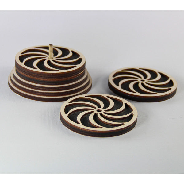 Coaster Set-Pinwheel