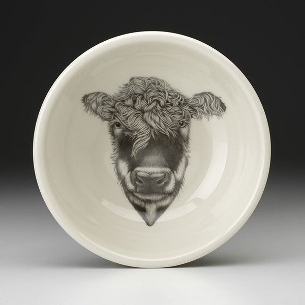Cereal Bowl with Hereford Cow