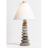 Stacked Rock Cottage Lamp