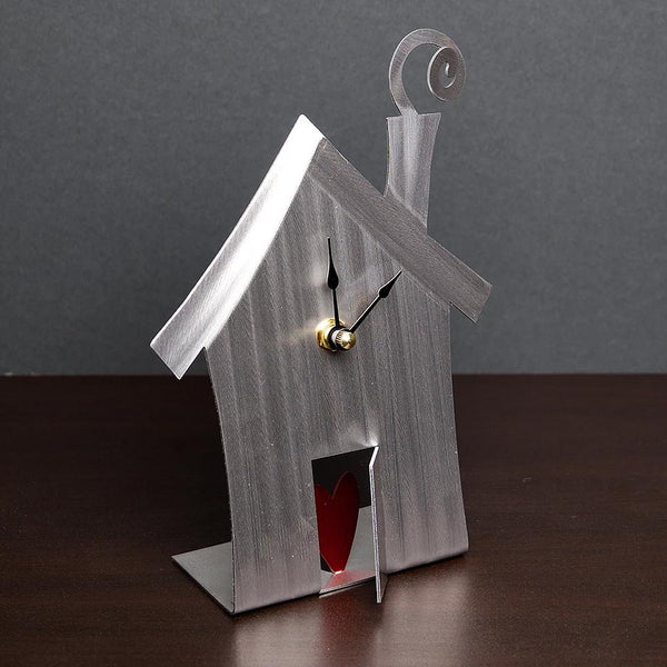 Heart & Home Desk Clock