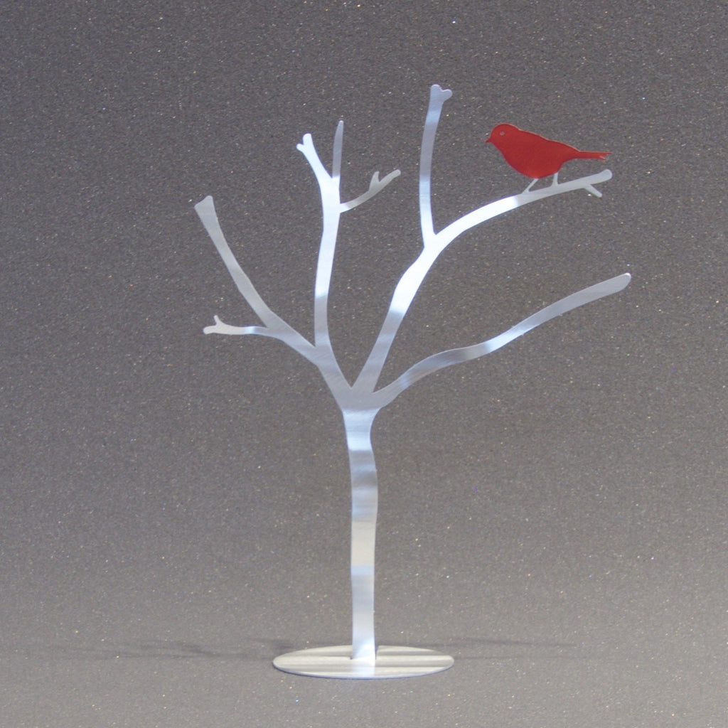 Large One Red Bird Branch
