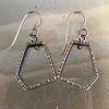 Small Pentagonal Earrings