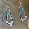 Apatite Ombre Triangle Earrings
