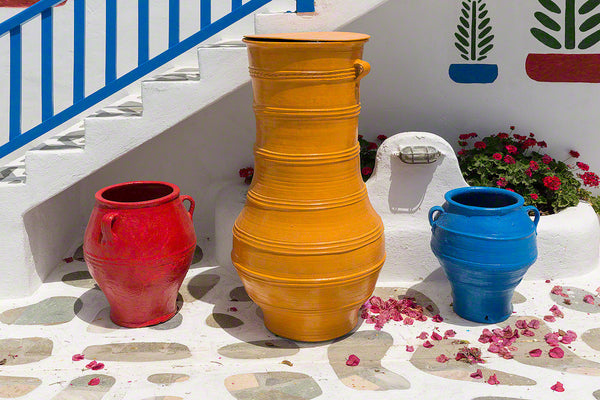 Greece - three pots