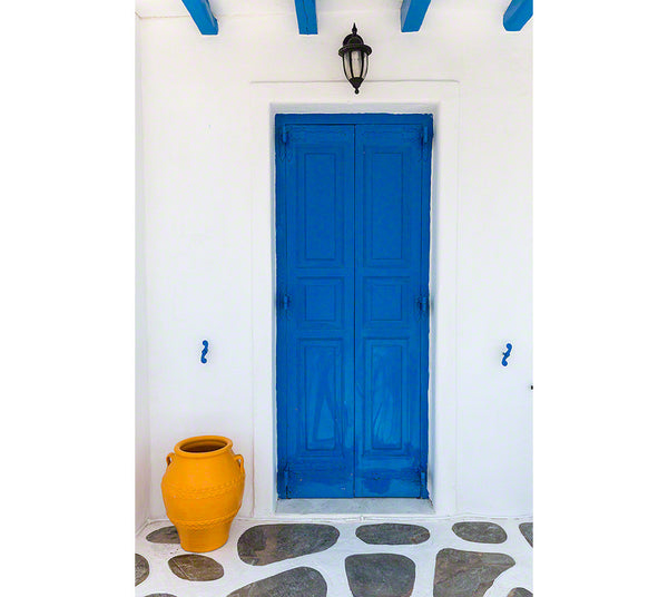 Greece - blue door
