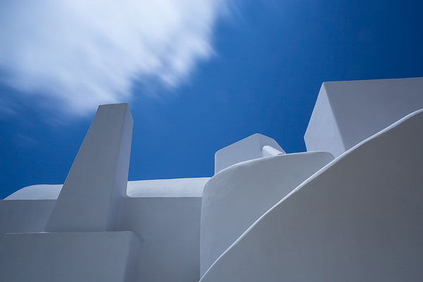 Greece - white and blue