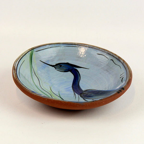 Little Dish with Heron
