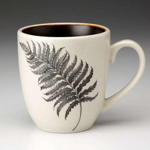 Mug with wood fern