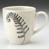 Mug with sword fern