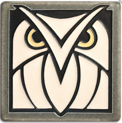 Owl - Grey & White