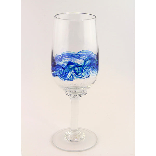 Sea Bubble Wine Glass