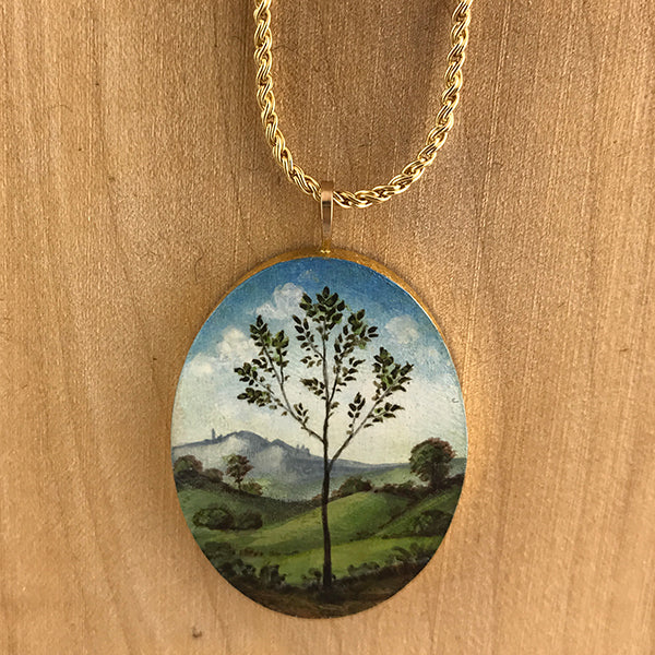 Oval Raphael Tree Necklace