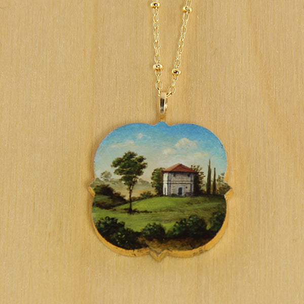 Quatrefoil Villa Necklace