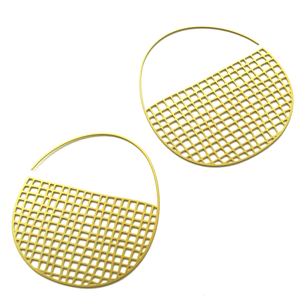 Basket Hoops - goldplated