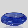 Small Ripple Wave Bowl - Cobalt