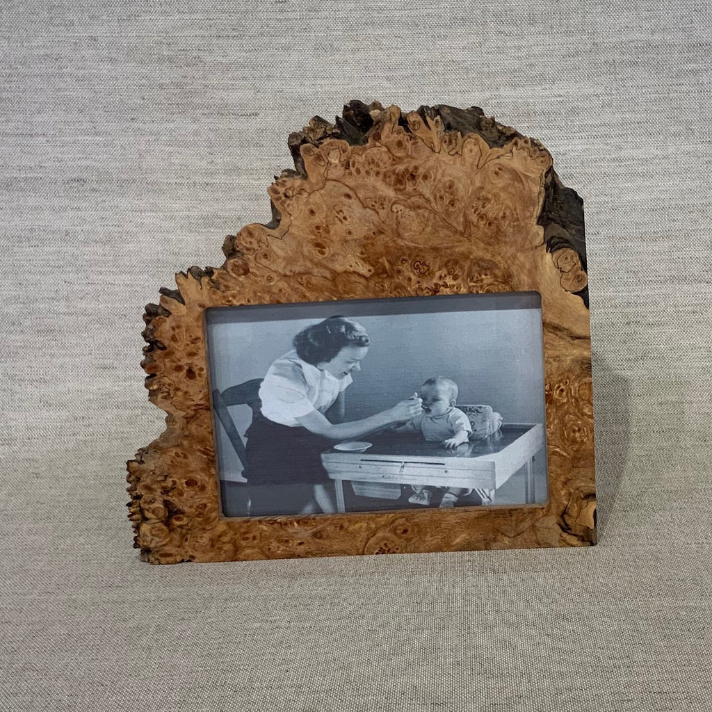 "Maple Burl Horizontal Frame w/ 4x6"" opening"