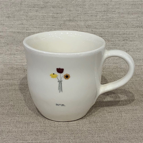 Seaside Mug - Mom (flowers)